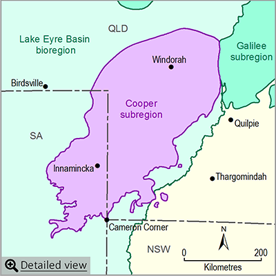 Thumbnail map of the Cooper subregion. Click image to view detailed map.