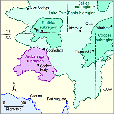 Thumbnail of the Arckaringa subregion