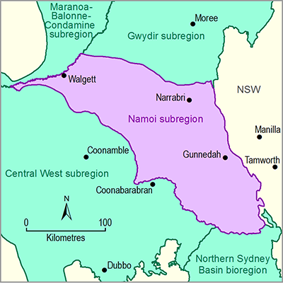 Thumbnail of the Namoi subregion